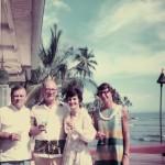 Lahaina Maui July 3 1971 Bob,Jack,Judy,Wilma Vorfeld